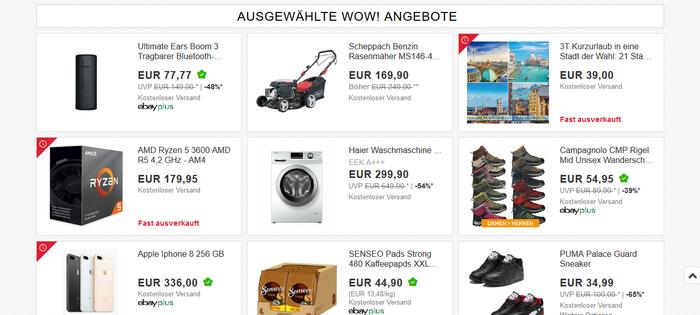 eBay - Deals (30.05.2020)