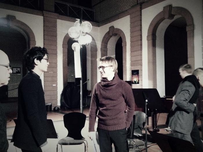 Jaehyuck Choi, Mathieu Jocqué (Opening 15 Internationales Festival fűr Actuelle Klangkunst)