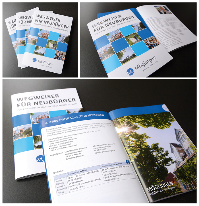 Wegweiser für Neubürger - Städtische Gemeinde Möglingen