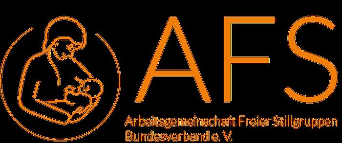 Logo AFS-Stillen, Stillberatung, Mutter mit Baby, Wiebke