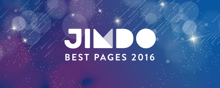 Jimdo Best Pages 2016 10/31まで応募受付中!