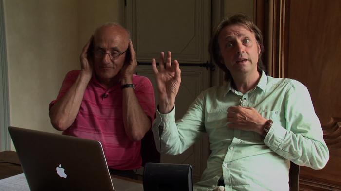 Jean-Luc Hervé et Michel Delannoy