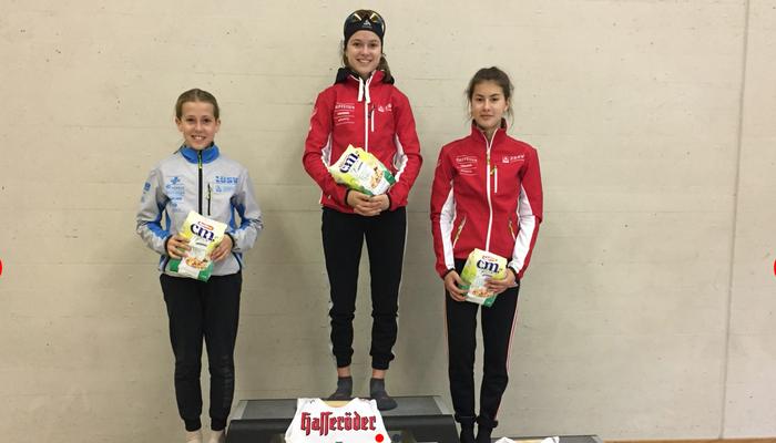 Ramona Schöpfer stellte gleich zwei Streckenrekorde auf und gewann die Gesamtwertung. Zweite wurde Leandra Schöpfer gefolgt von Nadia Steiger.