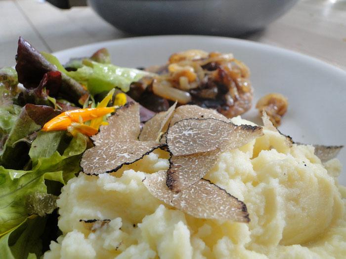 Burgundertrüffel und Kartoffelstock
