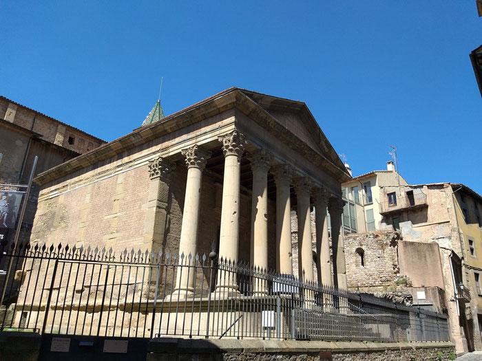 Вик, Римский храм Аусы, экскурсии