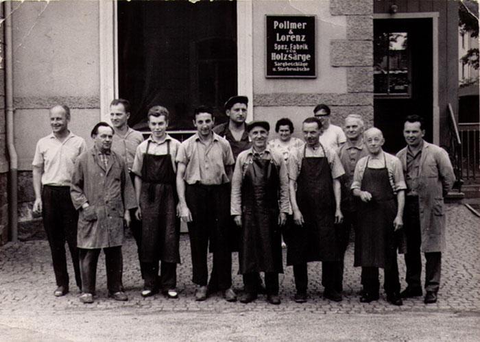 Belegschaft Polmmer GmbH 1968
