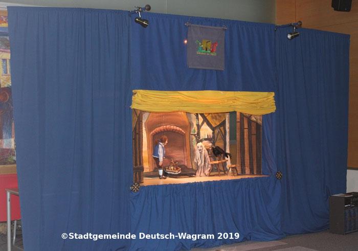 Drache Funki und das verhexte Winterfeuer - Ferienaktion ©Stadtgemeinde Deutsch-Wagram 2019