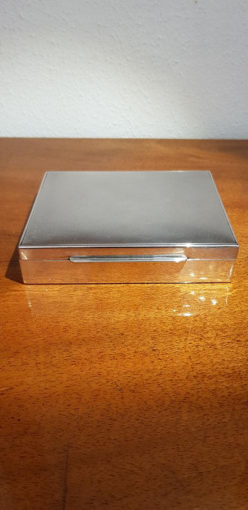 Zigarettendose Zigarrenbox 925er Silber