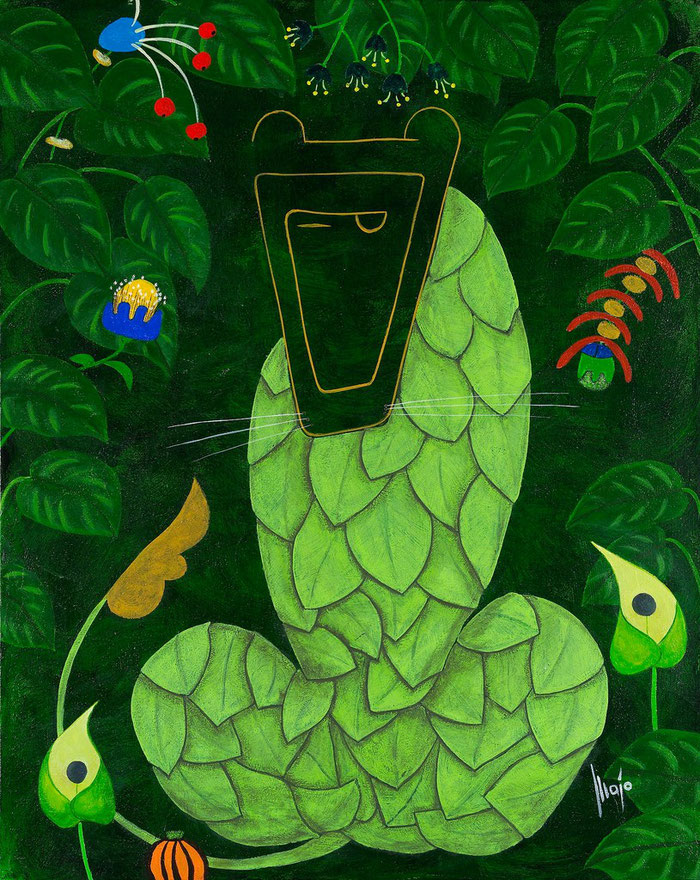 Verwirrung, MAJO 2003, Acryl auf Leinwand