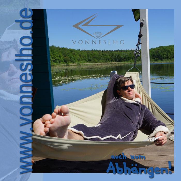 Bademantel mit Kapuze und extra schön lang Luxus pur zum Wohlfühlen Wellnessmantel Hausmantel Saunamantel für Sauna