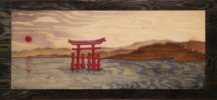 Itsukushima-Schrein Japan