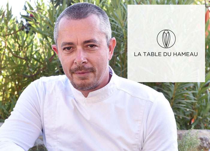 Stephan Paroche, a natural chef at La Table du Hameau
