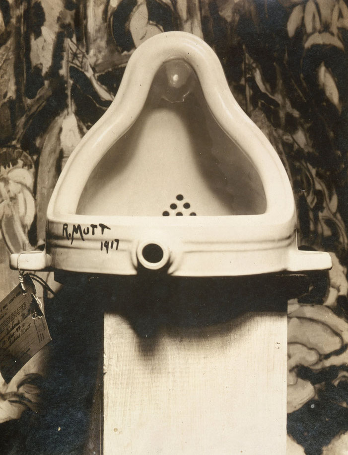マルセル・デュシャン《泉》1917年