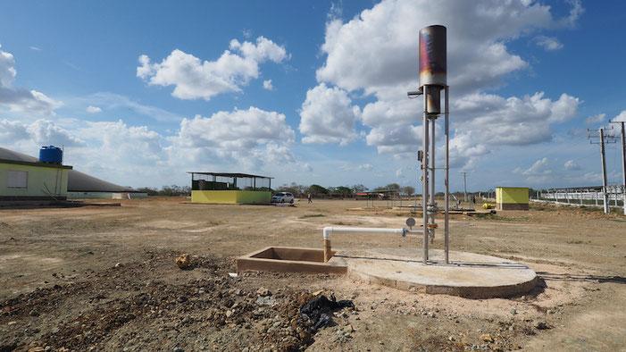 Antorcha para biogas - quemador biogás - mechero biogas - biodigestor