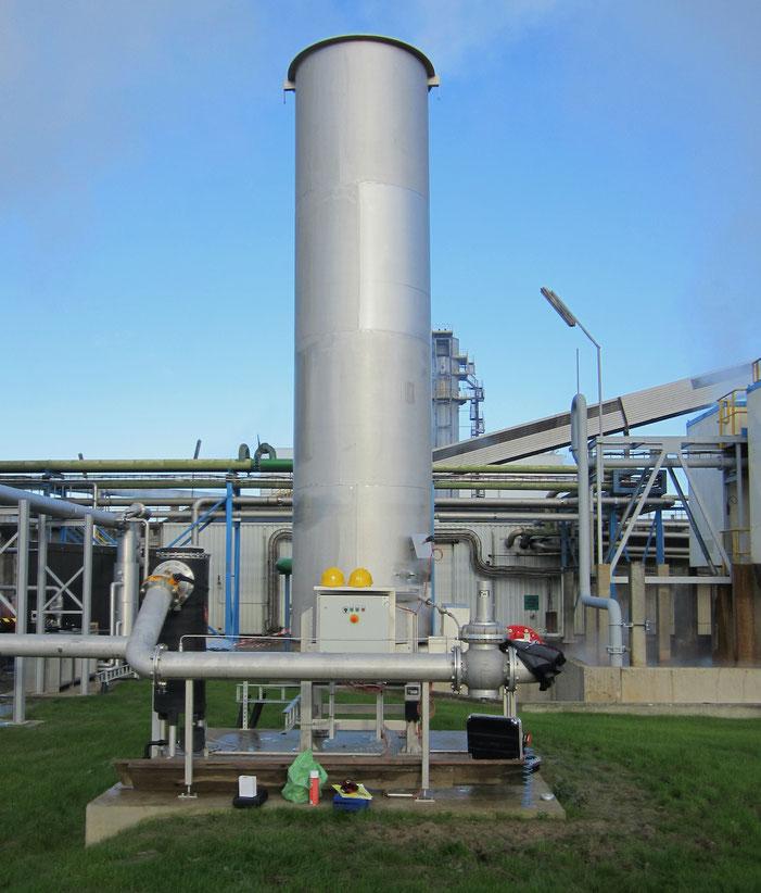 Biogas - Biodigestor - Flare high temperature (HT) -Antorcha para biogas - quemador biogás - mechero biogas - biodigestor - para quemar biogas - quemador para biogás - combustión de biogas - mechero para biogas