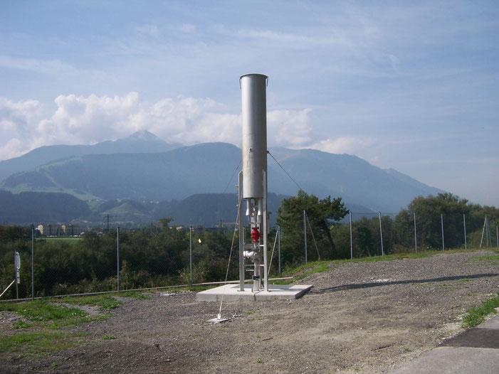 Biogas flare - natural gas flare - LPG flare - Aqualimpia