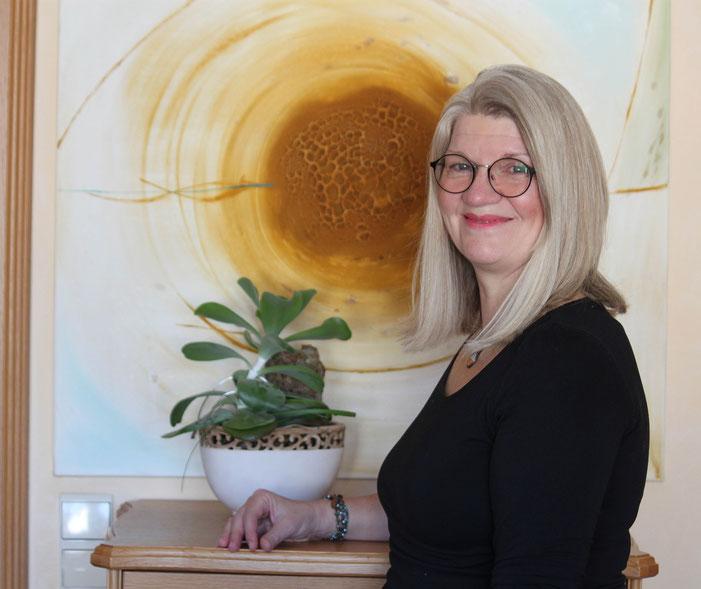Bernadette Vögele, Kunsttherapie SHB in Lahr