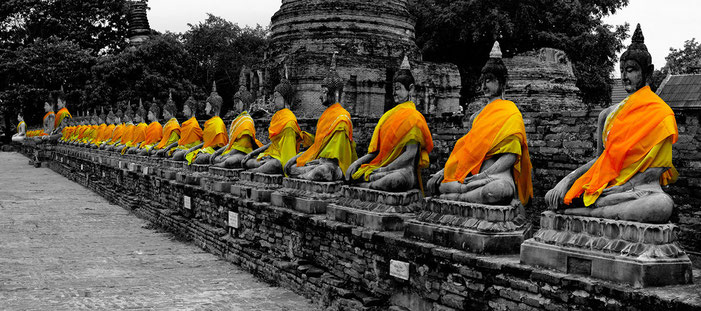 Thaïlande - Ayutthaya, Wat Chai Chaimongkhon