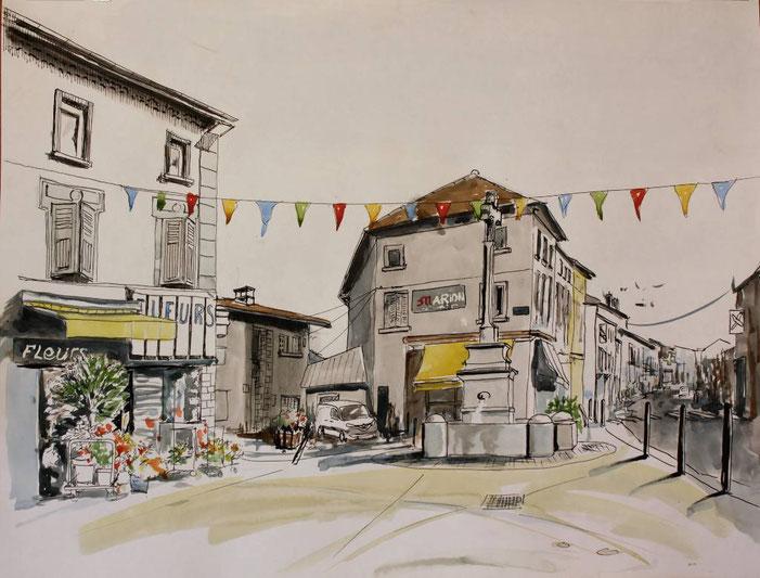 3 éme ex-aequo, Prix de la Ville de Miribel :  Claude GOUBEAUX - La Boise