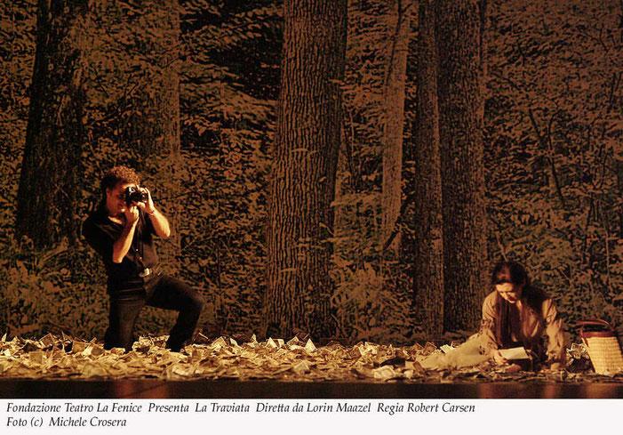 「ラ・トラヴィアータ」 2004年12月、フェニーチェ劇場にて