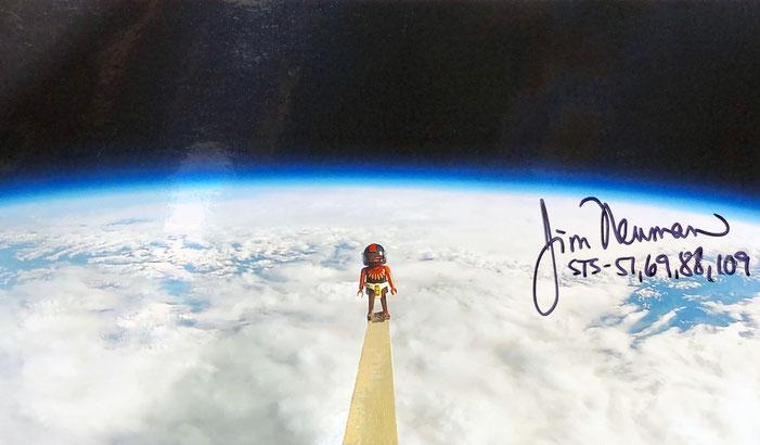 Autograph Jim Newman Autogramm