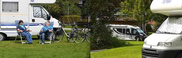 Wohnmobilstellplätze Oberbayern im Bauernhof Oberaudorf