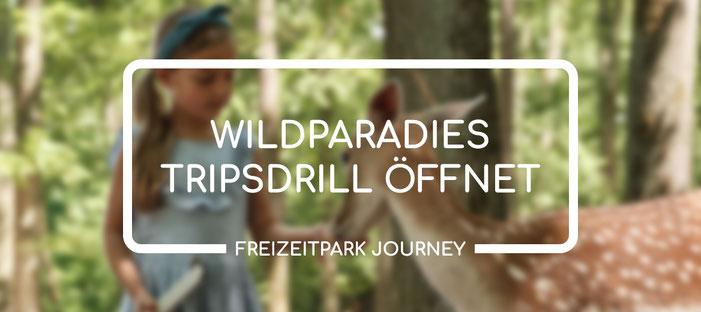 Ab Freitag, 30. April 2021 hat das Wildparadies Tripsdrill wieder täglich geöffnet.
