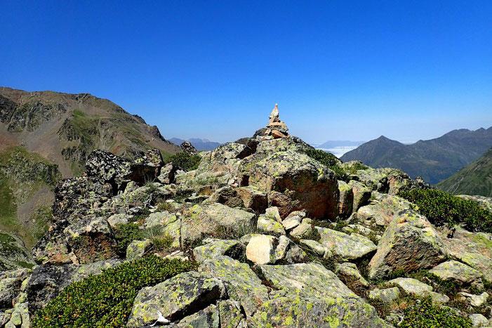 Cette fois, pas de lézard, je suis au sommet (2536m).