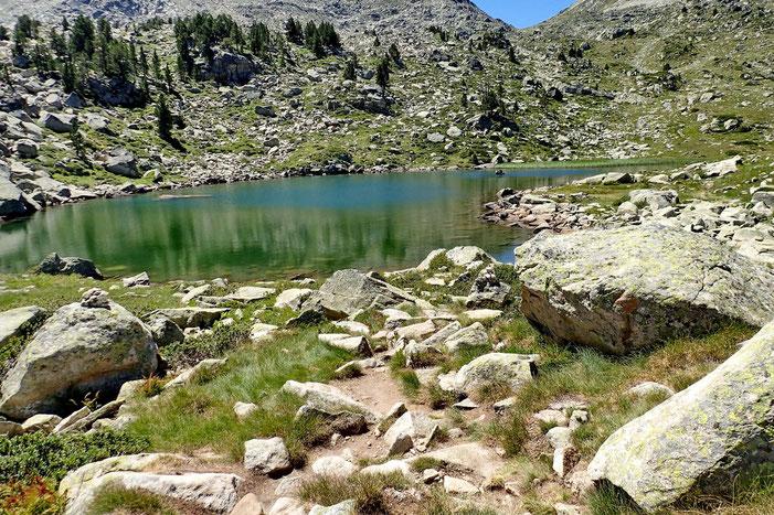 Le troisième lac de Madamète.