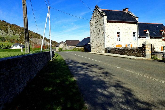 La banlieue d'Arthez d'Asson...