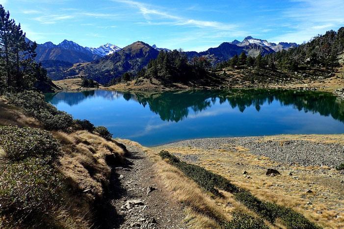Très mignon petit lac.