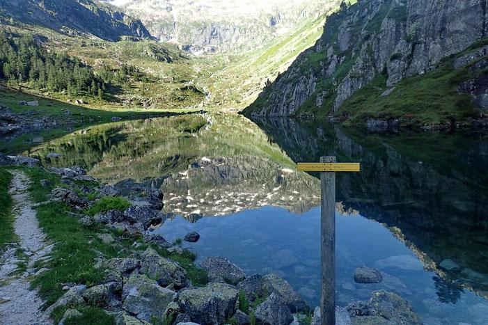Suivi quelques mètres plus haut du lac du Plaa de Prat (1656m).