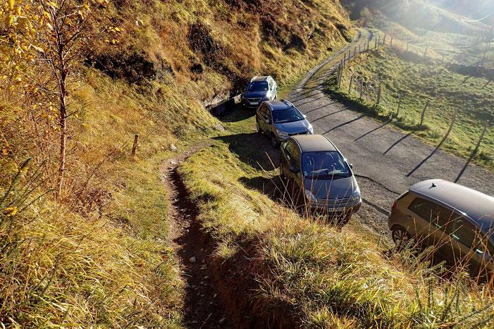 La Montagne Verte est assez prisée des randonneurs.
