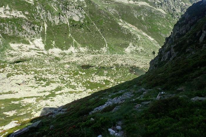 Et les lacs de Liantrans de plus en plus petits!