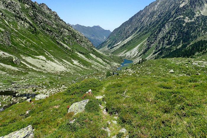Et un peu plus loin, le lac du Plaa de Prat.