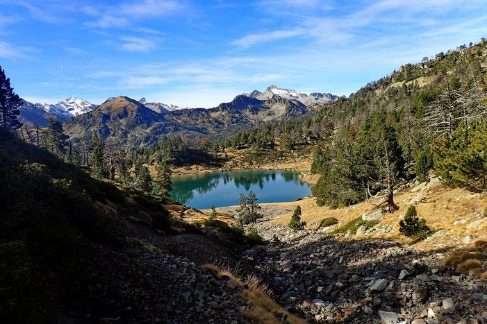Le Lac Inférieur avec un peu plus de hauteur.