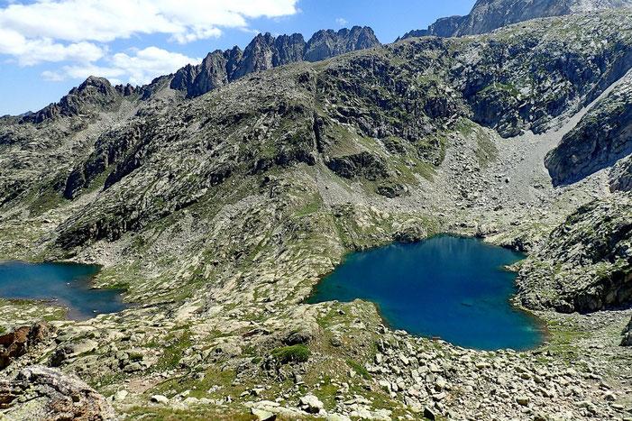 Je grimpe encore un peu plus haut pour voir le Lac Estelat Supérieur.
