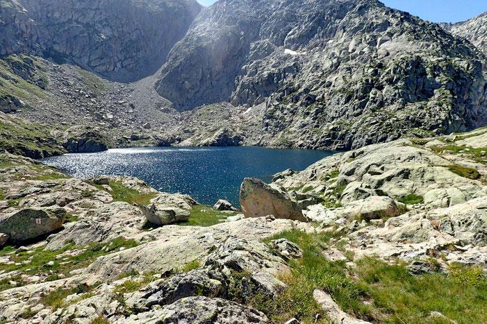 Et voilà le Lac Estelat Supérieur (2423m).