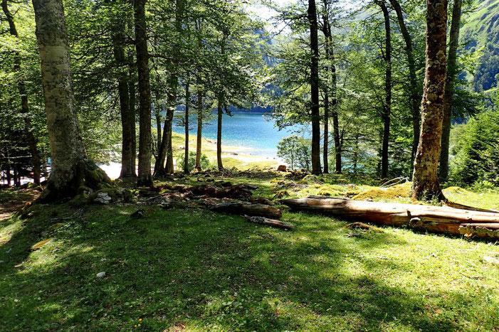 Le Lac de Bious Artigues.