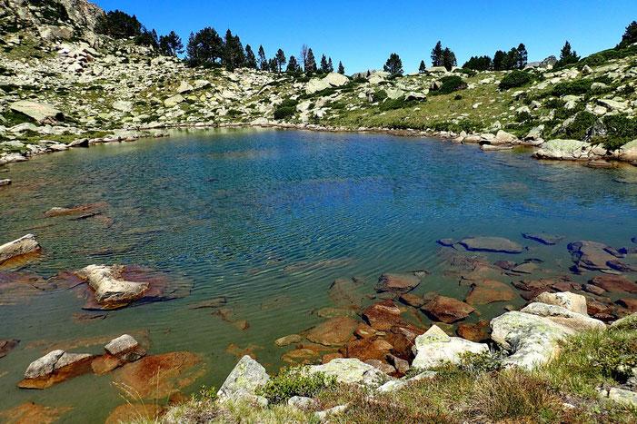 Après la pause déjeuner, petit tour vers le Nord pour découvrir un second lac, beaucoup plus petit.