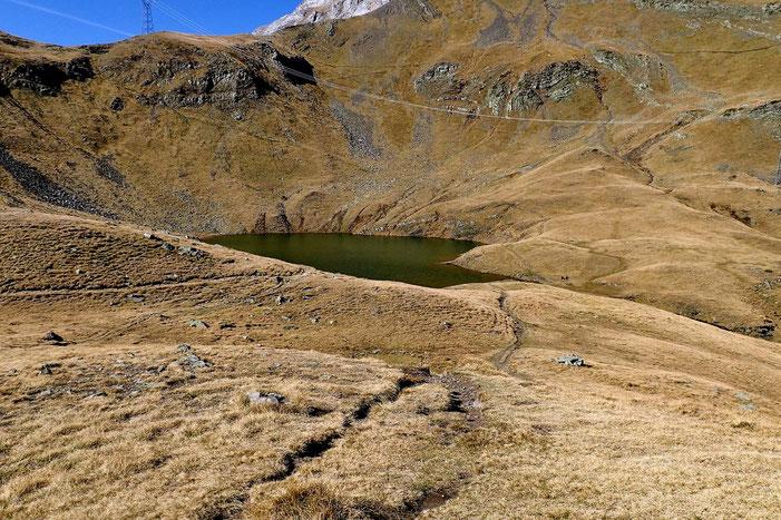 Le Lac des Espécières (2192m).
