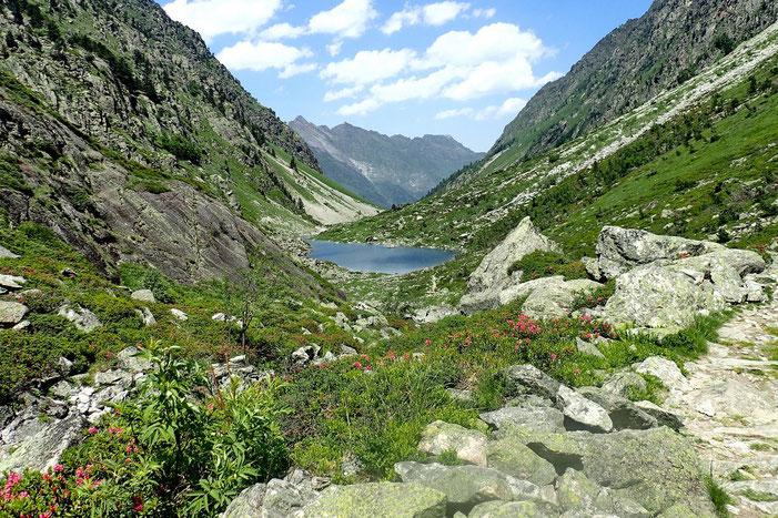 Le lac de Langle.