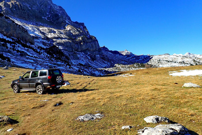 Le véhicule 4x4 du berger espagnol.