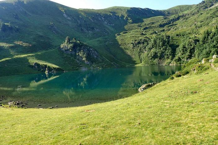 Le lac de Bareilles (1765m).