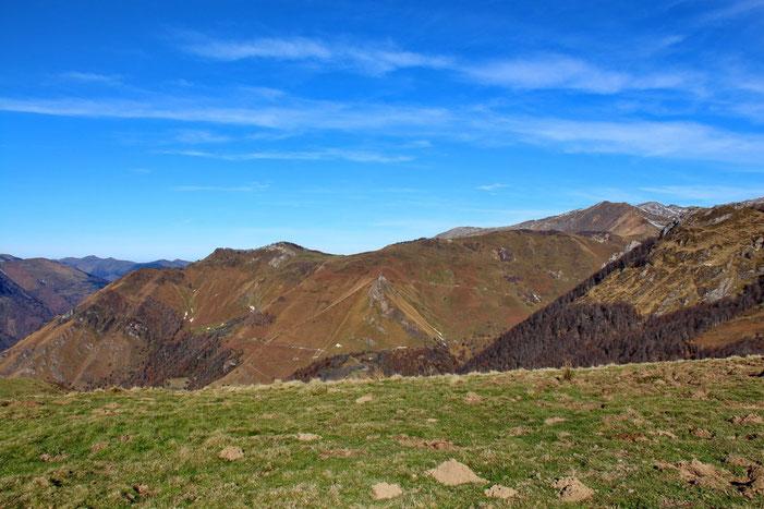 Le Pic d'Auzu et le Turon de Luzé.