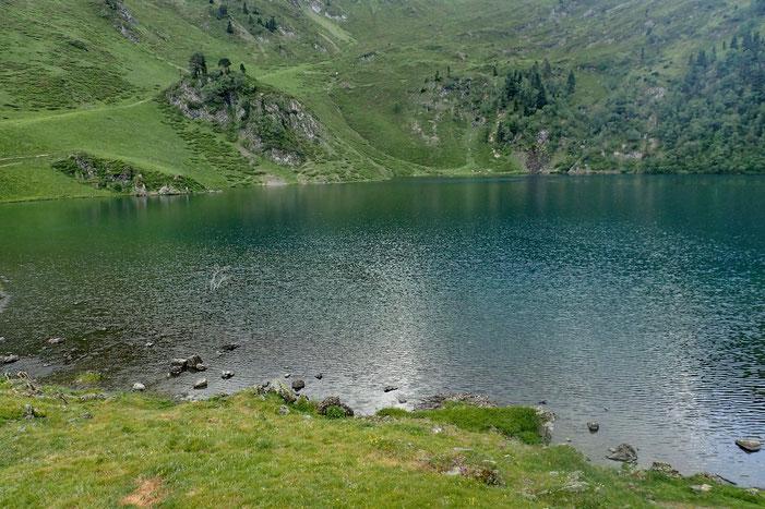 Bye bye lac de Bareilles... j'enfile mon kway.