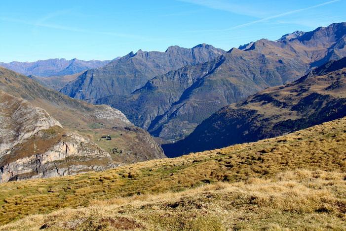 Toujours du Pic de la Pahule, vue sur la vallée.