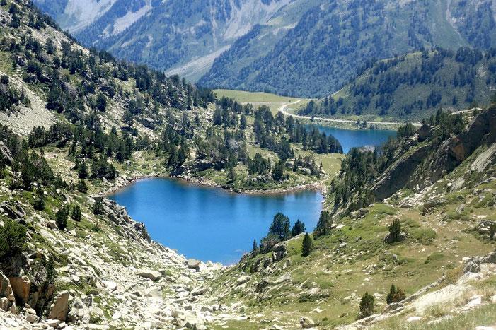 Superbe petit lac ce Gourg de Rabas.