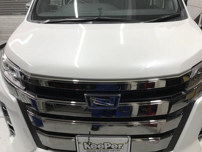 EXキーパープレミアム 松山 新車コーティング キーパーラボと同等のサービスを展開しています。