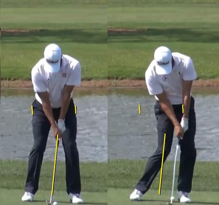 Pro Golfer Example Swing